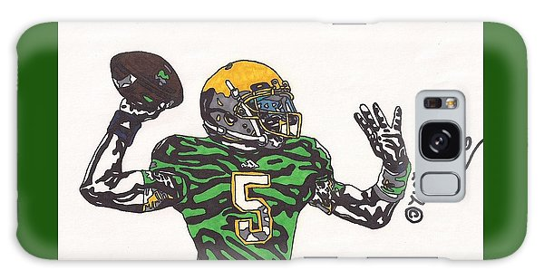 Everett Golson 1 Galaxy Case by Jeremiah Colley