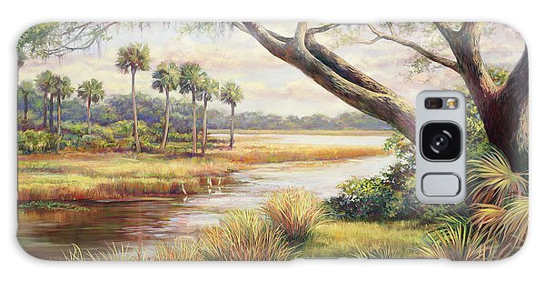 Old Florida Galaxy Case - Everglades Afternoon by Laurie Snow Hein