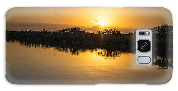 Everglades Sunset Galaxy Case