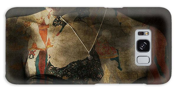 Portraiture Galaxy Case - Every Picture Tells A Story by Paul Lovering