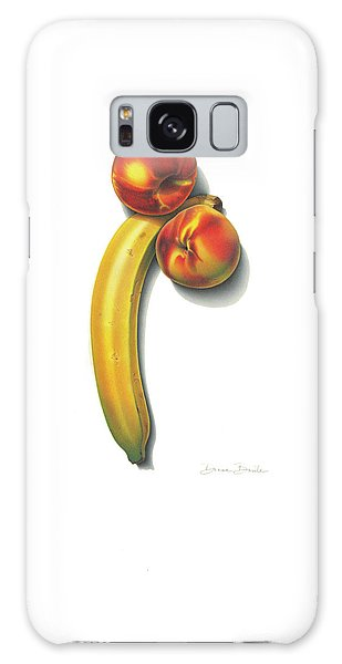 Eve's Favorite Fruit Galaxy Case by Donna Basile