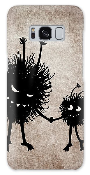 Evil Bug Mother And Child Galaxy Case