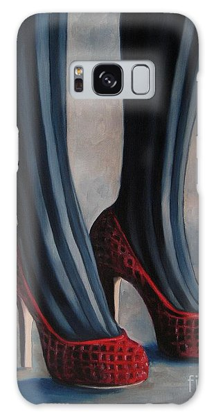 Evil Shoes Galaxy Case by Jindra Noewi