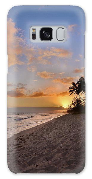 Ewa Beach Sunset 2 - Oahu Hawaii Galaxy Case
