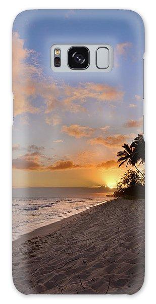 Beautiful Park Galaxy Case - Ewa Beach Sunset 2 - Oahu Hawaii by Brian Harig
