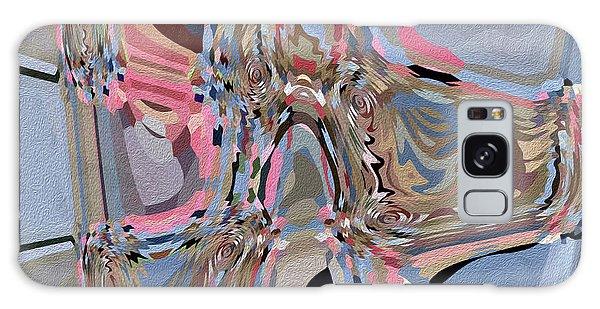 Galaxy Case featuring the digital art Exit by Eleni Mac Synodinos