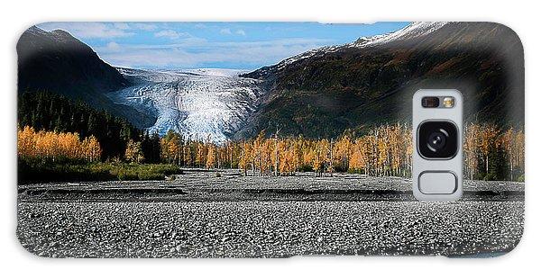 Exit Glacier Kenai Fjords National Park Galaxy Case