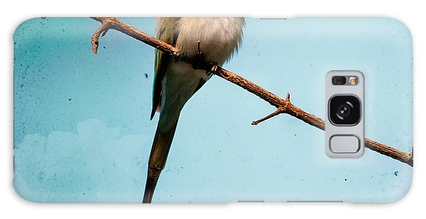 Galaxy Case featuring the photograph Exotic Birds - White Throated Bee Eater by Gary Heller