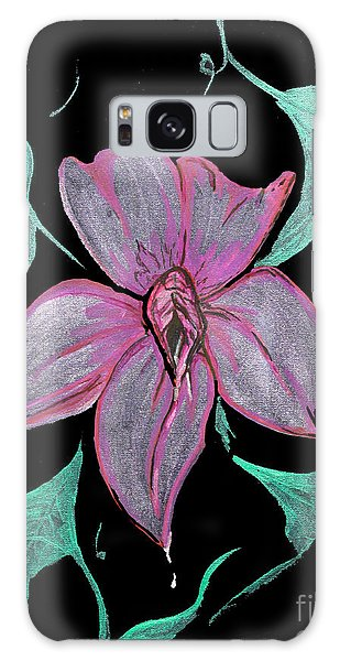 Exotic Flower Galaxy Case by Tbone Oliver