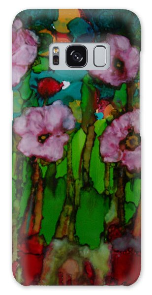 Exotic Flowers # 51. Galaxy Case by Sima Amid Wewetzer