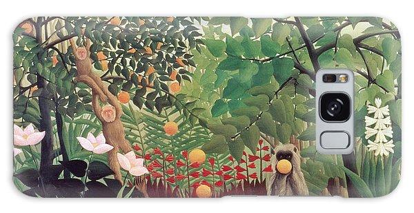 Crt Galaxy Case - Exotic Landscape by Henri Rousseau