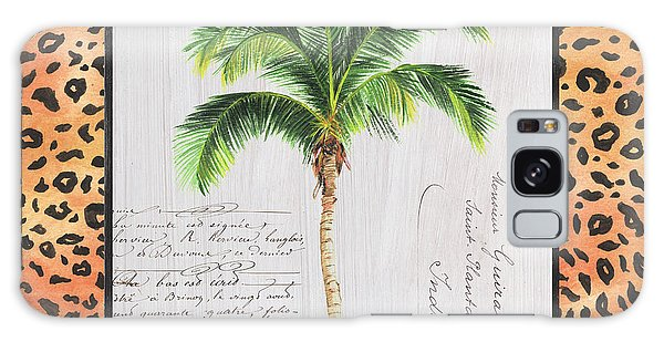 Galaxy Case - Exotic Palms 1 by Debbie DeWitt