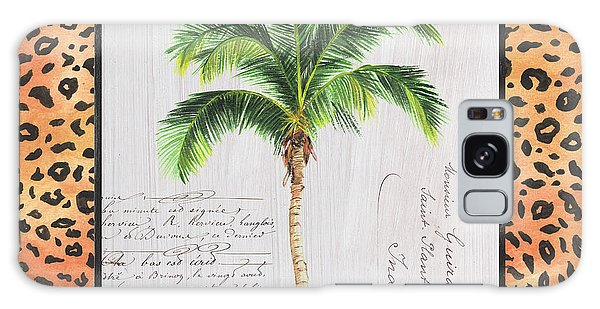 Foliage Galaxy Case - Exotic Palms 1 by Debbie DeWitt