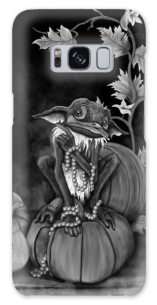 Explain Yourself - Black And White Fantasy Art Galaxy Case