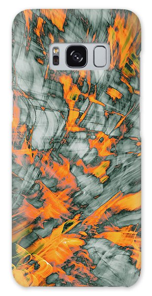 Exploded Fall Leaf Abstract Galaxy Case