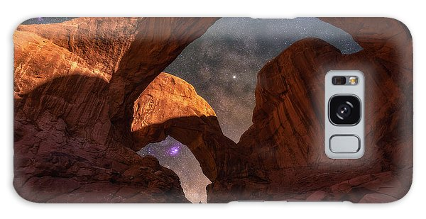 Galaxy Case featuring the photograph Explore The Night by Darren White