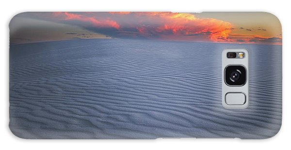 Sand Dunes Galaxy Case - Explosion Of Colors by Edgars Erglis