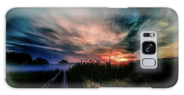 Galaxy Case featuring the photograph Explosive Morning #h0 by Leif Sohlman