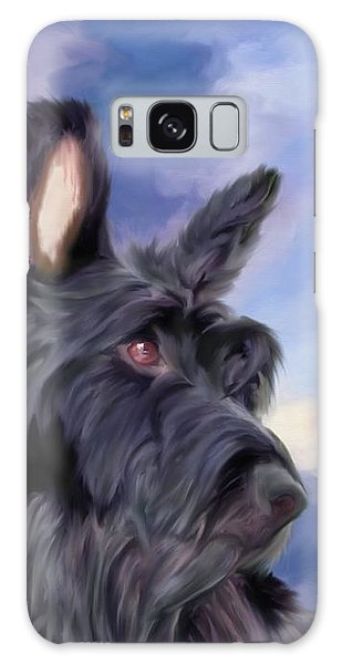Expression Is Everything Scottish Terrier Dog Galaxy Case