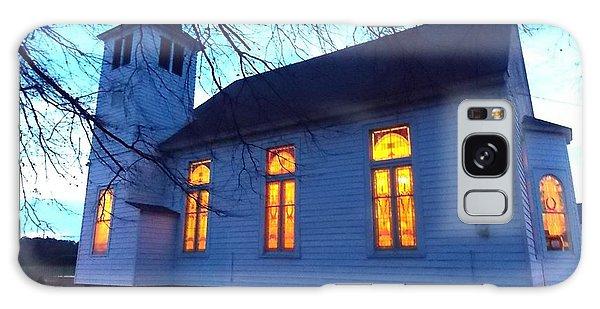 Exterior Church Evening Galaxy Case