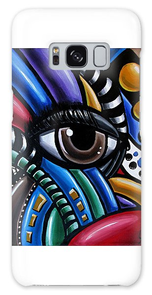 Eye Abstract Art Painting - Intuitive Chromatic Art - Pineal Gland Third Eye Artwork Galaxy Case