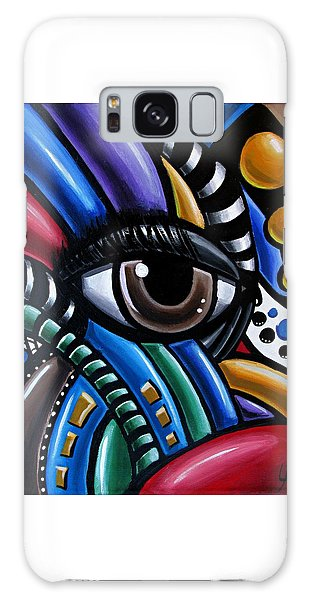 Eye Am - Abstract Eye Art Galaxy Case