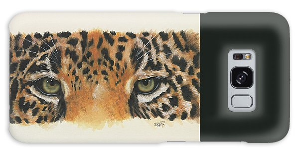 Eye-catching Jaguar Galaxy Case by Barbara Keith
