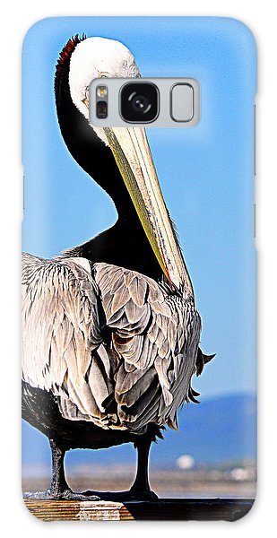 Galaxy Case featuring the photograph Eye Contact by AJ Schibig