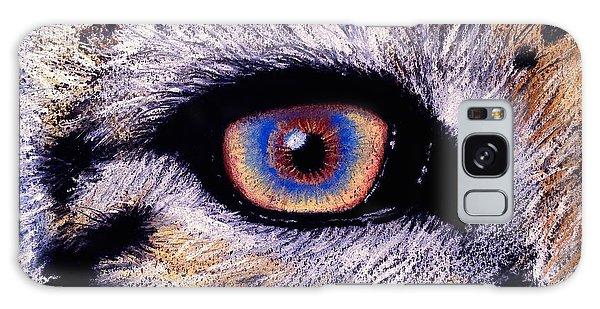 Eye Of A Tiger Galaxy Case