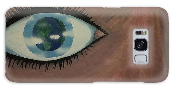Eye Of The World Galaxy Case by Thomas Blood