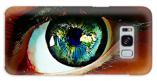 Eye On The World Galaxy Case
