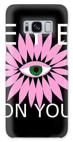 Eye On You - Black Galaxy Case