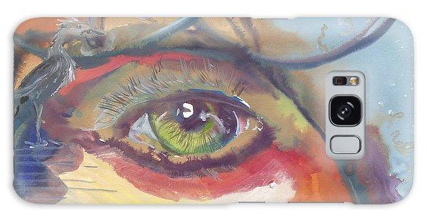 Eye See A Bird Galaxy Case