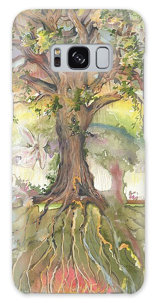 Eye See My Healing Tree Galaxy Case