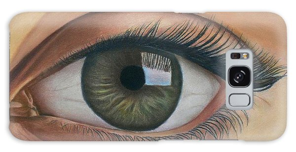 Eye - The Window Of The Soul Galaxy Case