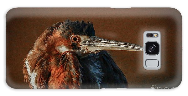 Eye To Eye With Heron Galaxy Case