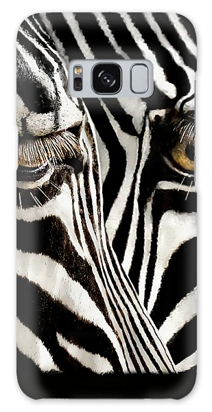 Eyes And Stripes Forever Galaxy Case