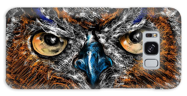 Eyes In The Night... Galaxy Case