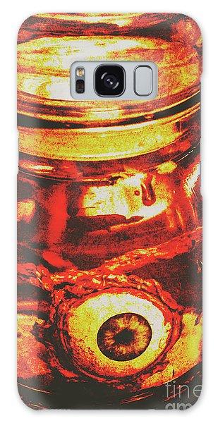 Body Parts Galaxy Case - Eyes Of Formaldehyde by Jorgo Photography - Wall Art Gallery
