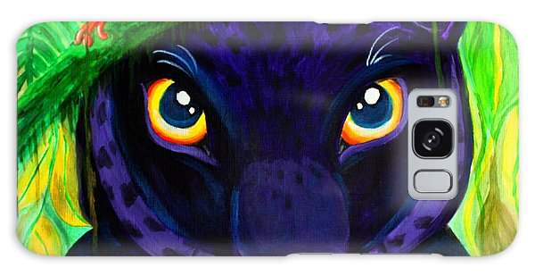 Eyes Of The Rainforest Galaxy Case by Nick Gustafson