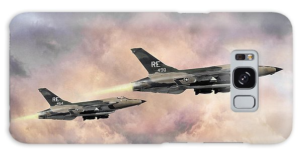 Tactical Galaxy Case - F-105 Thunderchief by Peter Chilelli