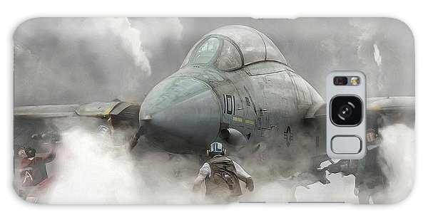 F-14 Smokin' Hot Galaxy Case