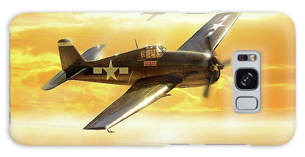 F-6f Hellcat Pacific Sunrise Galaxy Case