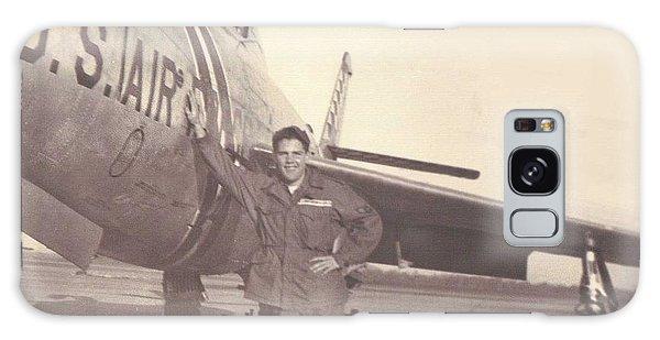 F-84f Thunderjet 1955 Galaxy Case by Paul Clinkunbroomer