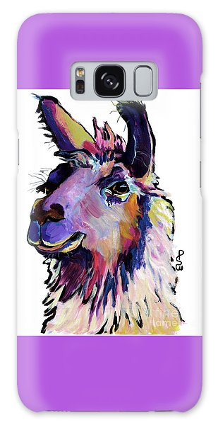 Llama Galaxy S8 Case - Fabio by Pat Saunders-White