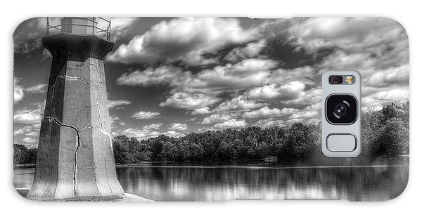 Fabyan Lighthouse On The Fox River Galaxy Case