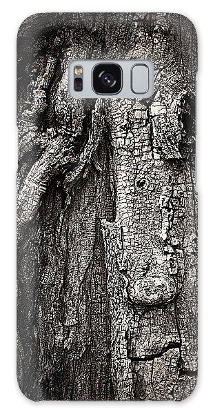 Face In A Tree Galaxy Case by JoAnn Lense