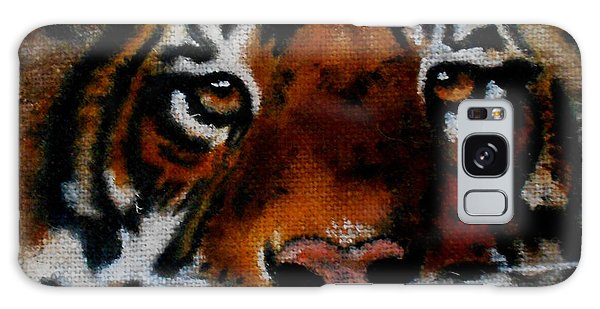 Face Of A Tiger Galaxy Case