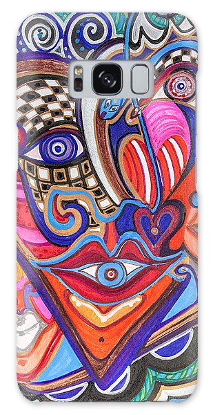Faces Of Hope Galaxy Case