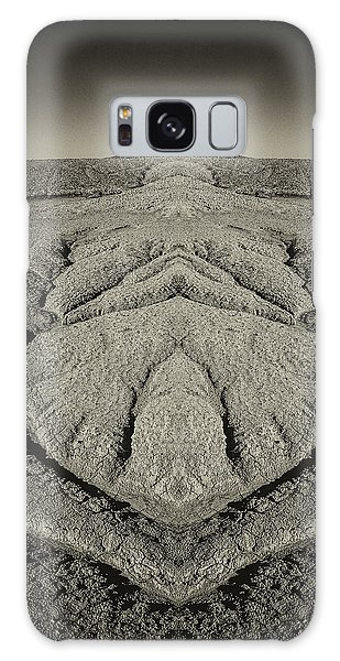 Factory Butte Digital Art Galaxy Case